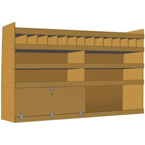 meuble de rangement pour v hicule utilitaire comparez les prix pour professionnels sur. Black Bedroom Furniture Sets. Home Design Ideas