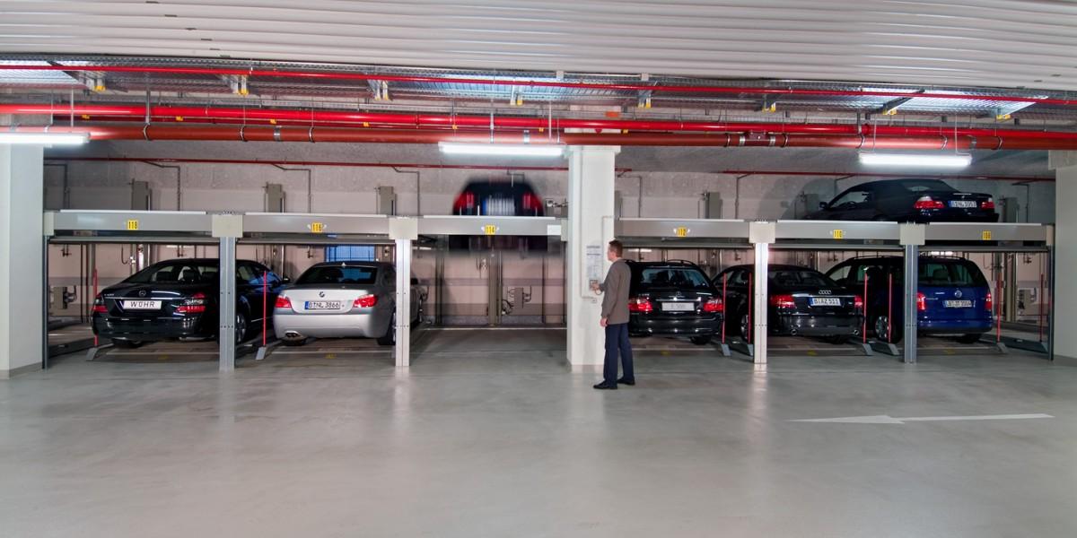 Parkings automatiques
