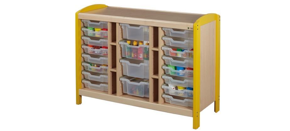 rangements casiers 3 colonnes rangements mobilier petite enfance. Black Bedroom Furniture Sets. Home Design Ideas