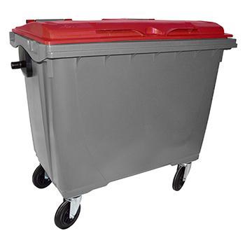 Conteneur poubelle 660l