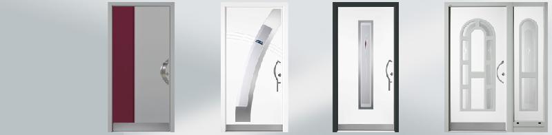 Porte d 39 entree en aluminium portal - Porte d entree style atelier ...