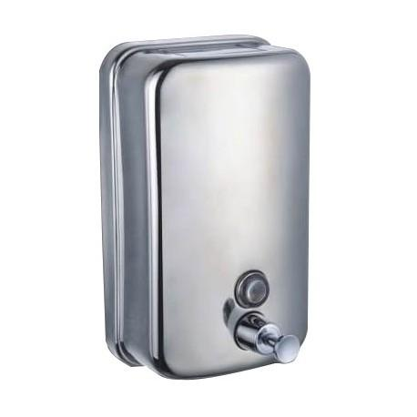 Lot de 3 distributeurs de savon inox anti vandalisme 1 litre
