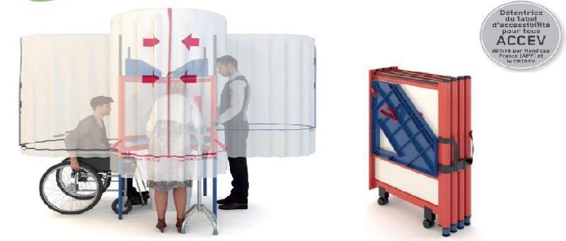 Cabine de vote - cabvote