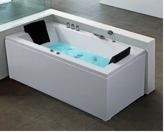 baignoire d 39 angle rectangulaire baignoire balneo whirlpool hydromassage chromotherapie. Black Bedroom Furniture Sets. Home Design Ideas