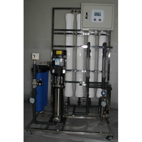 Traitement d'eau par osmose inverse industriel 4500 à 12000 gpd