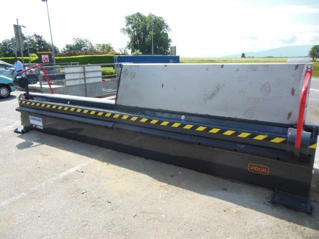 Barriere de sécurite pour dechetterie vidok
