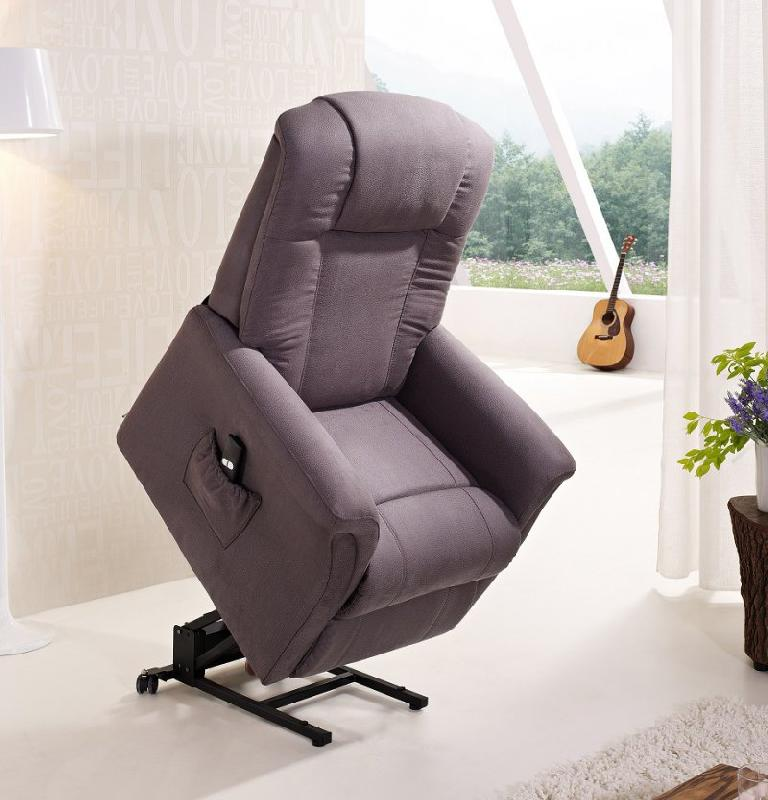 freedom fauteuil relax et releveur electrique mono moteur microfibre boa gris. Black Bedroom Furniture Sets. Home Design Ideas