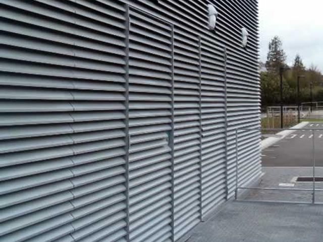 Lames filantes ventilation for Porte avec grille de ventilation
