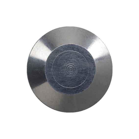 Clou podotactile vigiclou aluminium plat sans tige