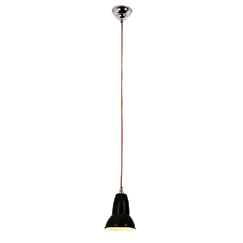 Duo suspension noir fil rouge 14 5cm suspension - Luminaire industriel la giant collection par anglepoise ...