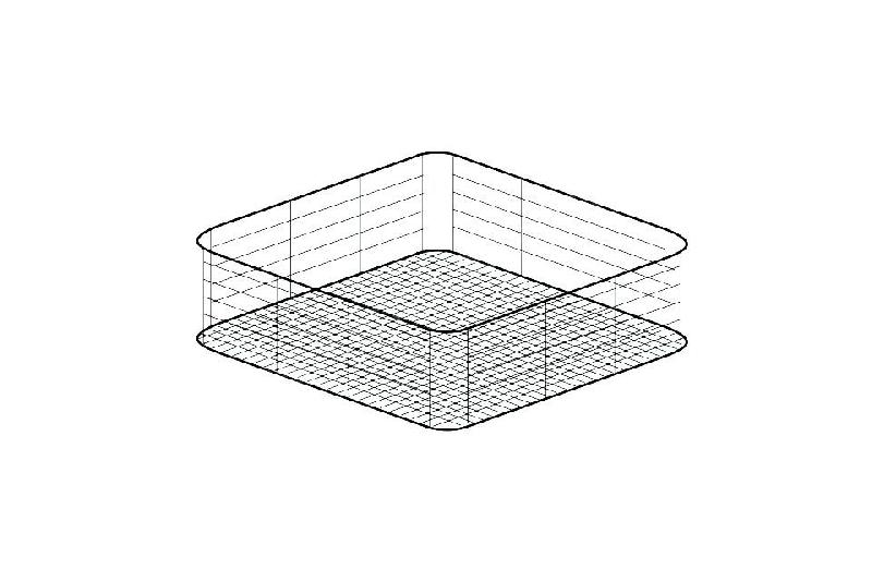panier carr verre pour lave vaisselles 350 x 350 mm comparer les prix de panier carr. Black Bedroom Furniture Sets. Home Design Ideas
