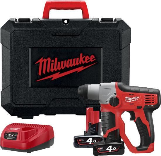 PERFORATEUR SDS+ M12 H-402C MILWAUKEE 12V 4.0AH - 4933441164