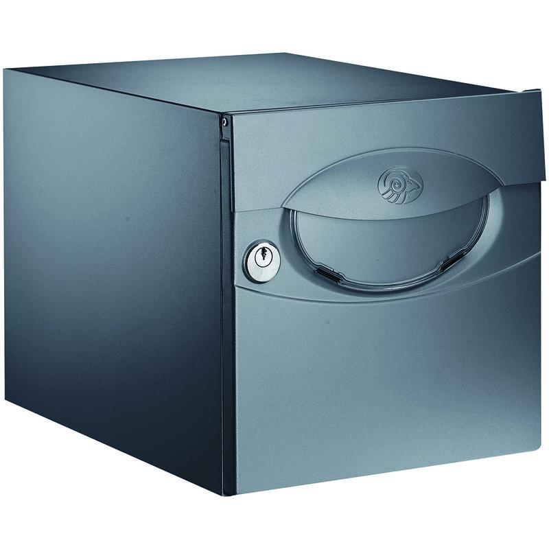 bo te aux lettres simple face iguane gris 7016 decayeux comparer les prix de bo te aux. Black Bedroom Furniture Sets. Home Design Ideas