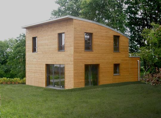 Maison Bois Cruard Affordable Projet Bois Aizenay De Maisons Sur Mesure En Ossature Bois With  # Projet Bois Aizenay