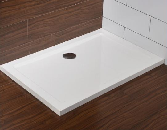 receveur de douche rectangulaire liscio en solicast 90x120 blanc comparer les prix de receveur. Black Bedroom Furniture Sets. Home Design Ideas