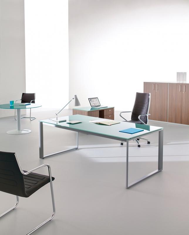 bureau verre 180x80. Black Bedroom Furniture Sets. Home Design Ideas
