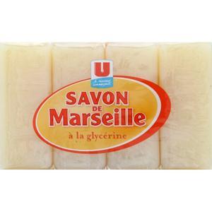 U savons de marseille glycerine 4 x 200 g - Savon de marseille sans glycerine ...