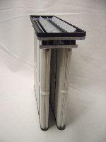 Cassettes filtrantes de dépoussiérage