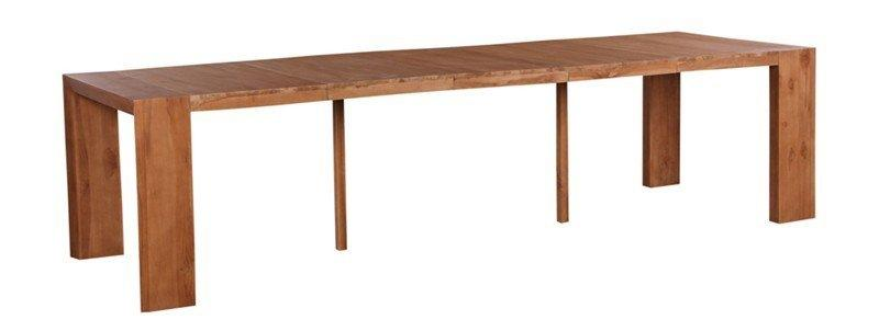 Console table extensible authentique 5 allonges 3 metres - Table console extensible personnes ...