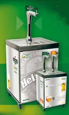 tireuse a biere heineken professionnel po le cuisine inox. Black Bedroom Furniture Sets. Home Design Ideas
