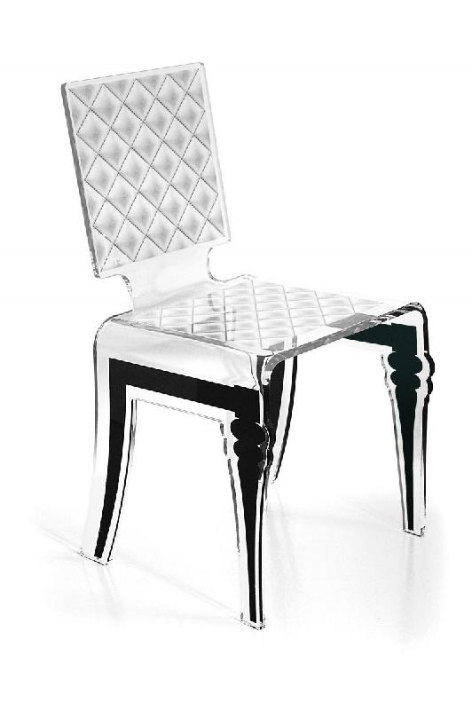 diam chaise design en plexi blanche par acrila. Black Bedroom Furniture Sets. Home Design Ideas