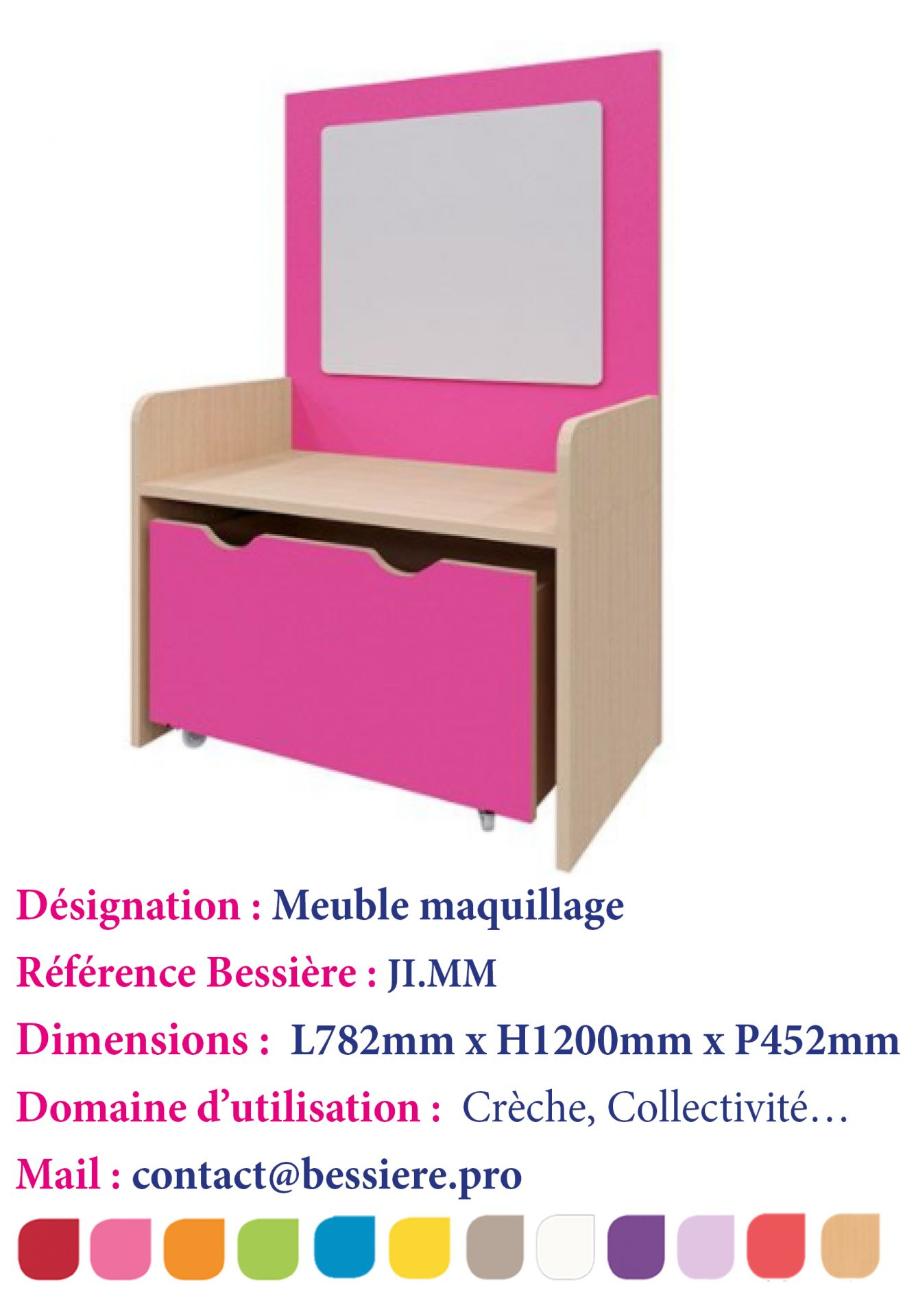 meuble maquillage