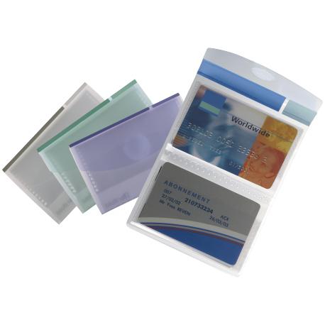 Porte cartes de visite tarifold collection en polypropyl ne comparer les prix de porte cartes - Porte badge rigide transparent ...