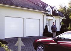 Portes sectionnelles de garage gamme basic - Porte de garage sectionnelle tubauto ...