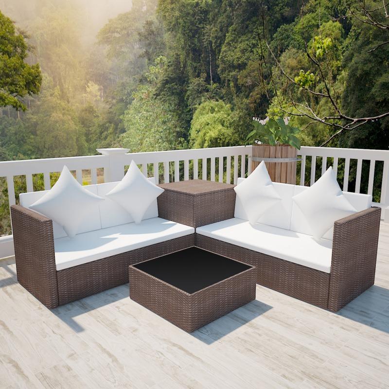 Best Salon De Jardin En Resine Tressee Luxe Poly Rotin de Design ...