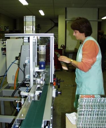 Machine pour découpe de verre