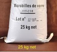 sable pour sableuse et abrasifs sac de 25 kg granulat de verre pour cabine de sablage. Black Bedroom Furniture Sets. Home Design Ideas