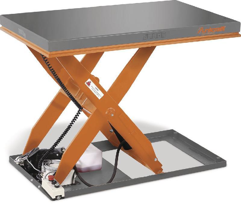 Table elevatrice hydraulique a ciseaux electrique 1t for Table elevatrice a ciseaux