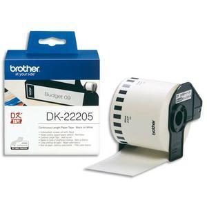 BRO RUBAN PAP ADH N/BLC 62MMX30M DK22205