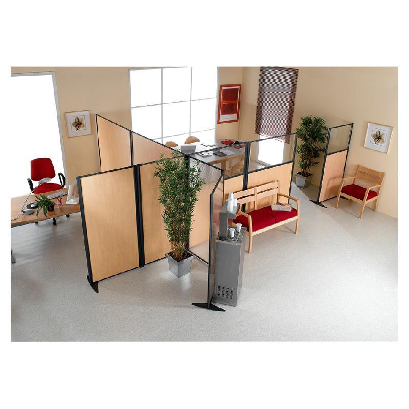 cloison sur pied top polyane pied de cloison hauteur cm with cloison sur pied latest pied. Black Bedroom Furniture Sets. Home Design Ideas