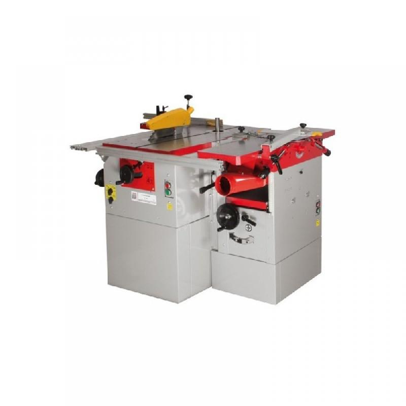 Holzmann - combiné à bois 5 fonctions 3 moteurs k5260l - 400v