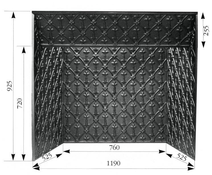 interieur de cheminee semi d 39 hermine. Black Bedroom Furniture Sets. Home Design Ideas