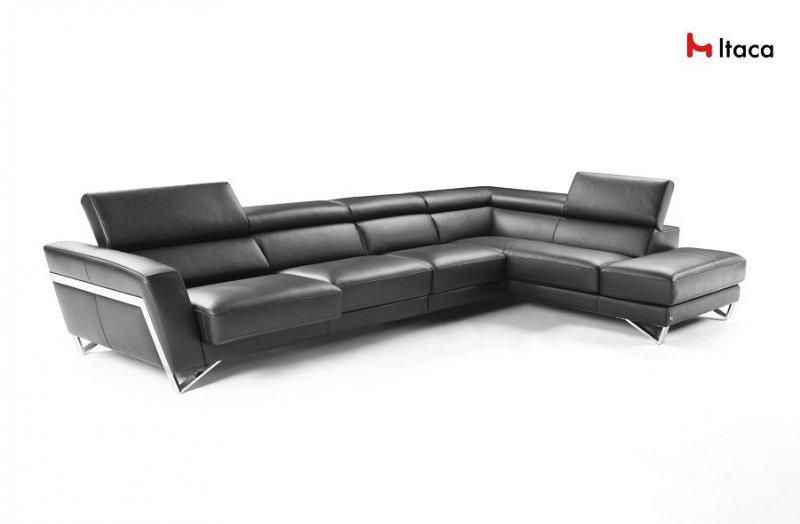 canape d 39 angle 373 225cm itaca de nicoletti peninsule. Black Bedroom Furniture Sets. Home Design Ideas
