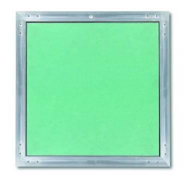 Placo trappe de visite alu plaque invisible apr s pose for Plaque de placo prix
