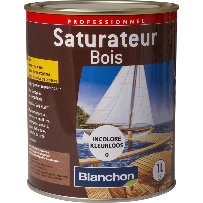 SATURATEUR BOIS BLANCHON 1L INCOLORE