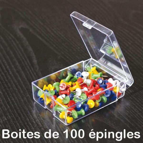 Boîte de 100 épingles