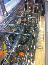 Ensemble de distillation pour réacteur