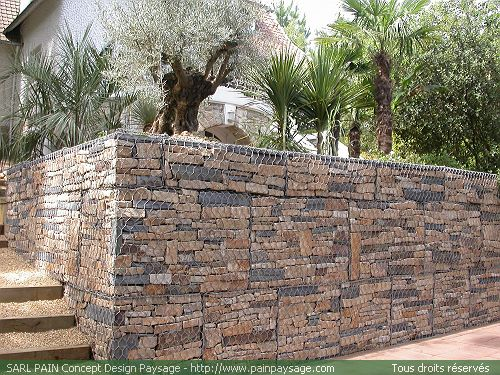 Gabion double torsion - Grillage pour gabion ...
