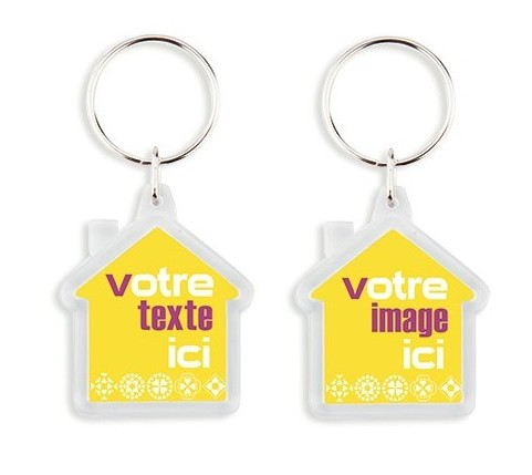 Porte cles et porte badges publicitaires tous les for Porte marketing