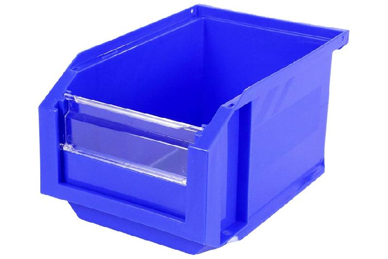 Bac Européan 3L Bleu avec Volet Abattant - 5045060