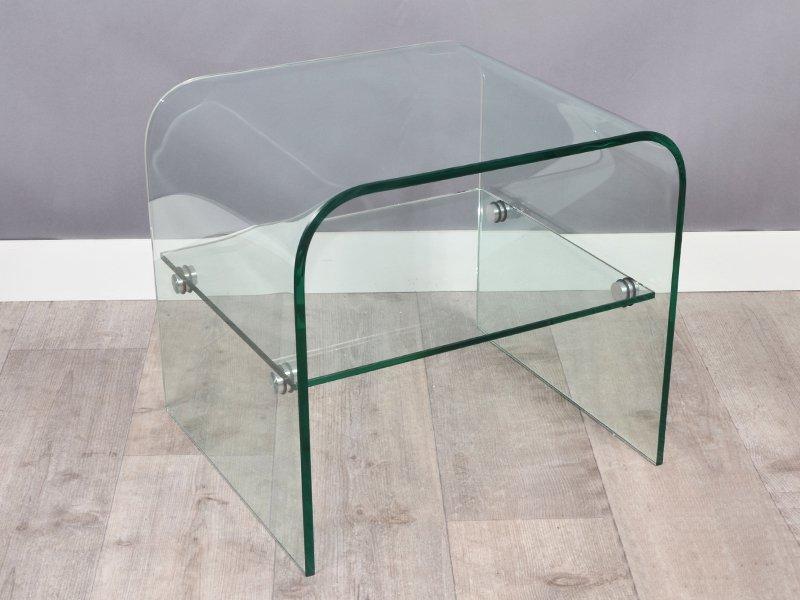 bout de canap en verre hollandschewind. Black Bedroom Furniture Sets. Home Design Ideas