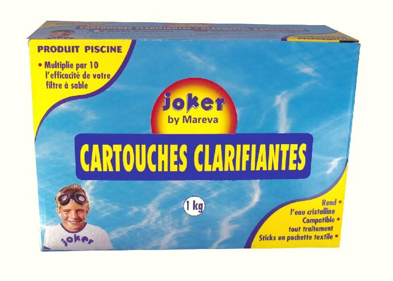CARTOUCHES CLARIFIANTES JOKER MAREVA 041009