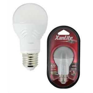 xanlite ampoule a leds culot e27 353 lumens puissance 4 8 watts. Black Bedroom Furniture Sets. Home Design Ideas