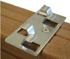 Systemes de fixation de lames de terrasses tous les fournisseurs systeme - Fixation lame composite ...