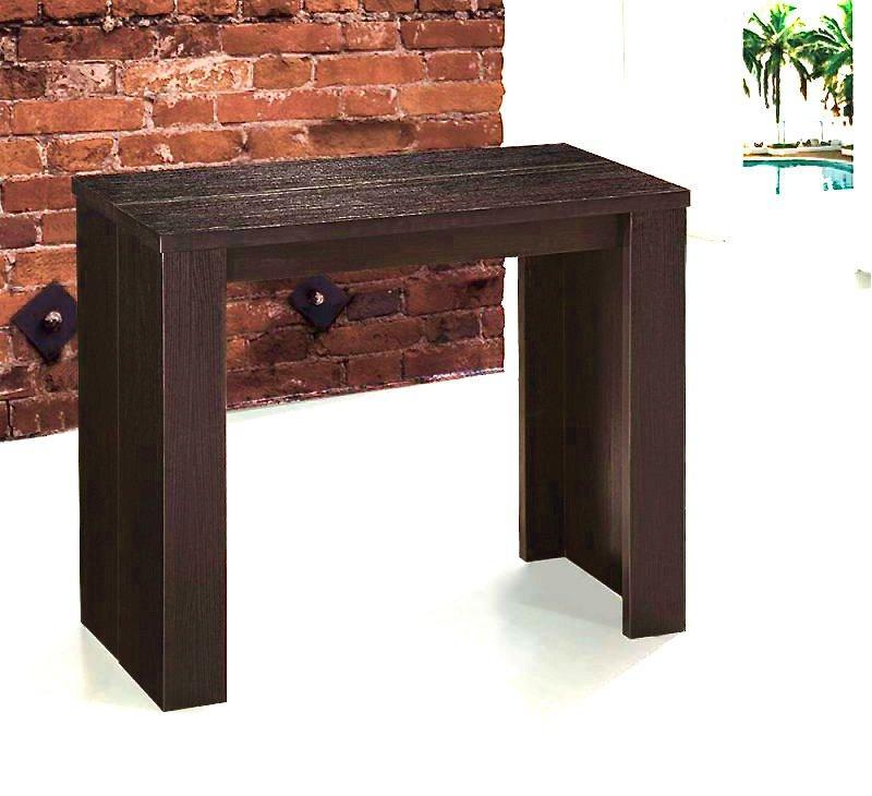 Console extensible en table repas elasto wenge - Table console extensible habitat ...