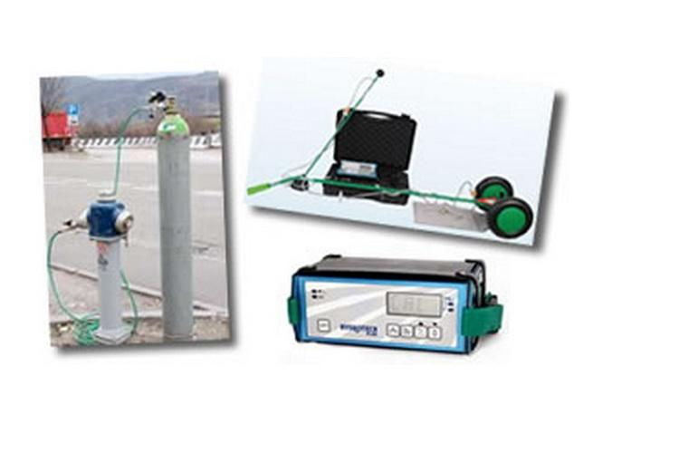 Détection de fuite par gaz traceur / hydrotec